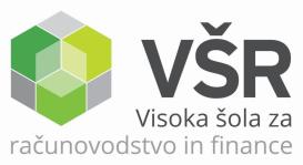 Logo of Visoka šola za računovodstvo in finance